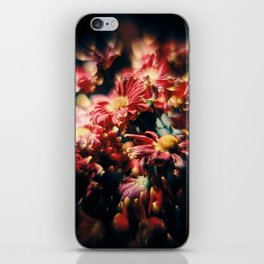 Red Flowers in Wilt 5 iPhone Skin