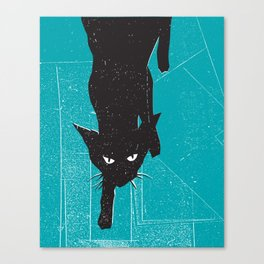 Black Kat Canvas Print