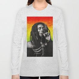marley bob general portrait painting | Up In Smoke Fan Art Long Sleeve T-shirt