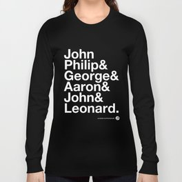 American Composers Long Sleeve T-shirt