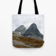 We Stand Together (Two Mountains, Norway) Tote Bag