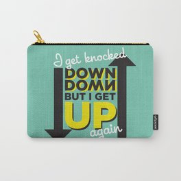 Knocked Down Carry-All Pouch