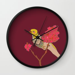 de retour Wall Clock