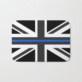 Thin Blue Line UK Flag Bath Mat