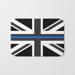 Thin Blue Line UK Flag Bath Mat