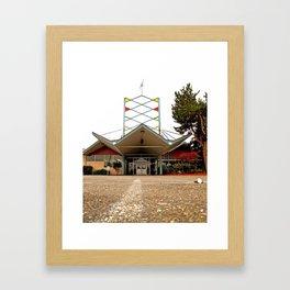 Bowlero Lanes Framed Art Print