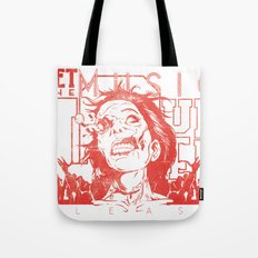 Get the music louder Tote Bag