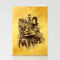 mad max Stationery Cards featuring Homage to Mad Max by Giorgio Finamore