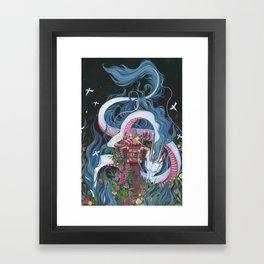 Haku Framed Art Print