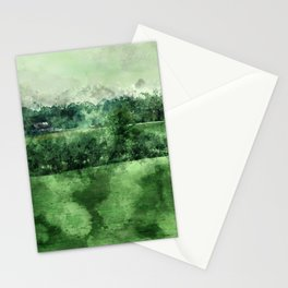 North Georgia Blue Cows Stationery Cards