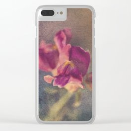 Snapdragon flowers Clear iPhone Case