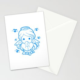 Kawaii Kiddies Cute Angel Stationery Cards