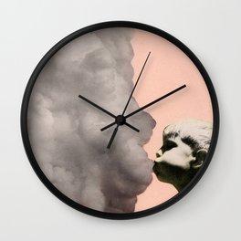 Exhalation Wall Clock