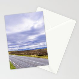 the open road – if you don't go, you won't know… Stationery Cards