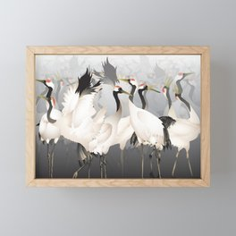 1000 Lucky Cranes Framed Mini Art Print