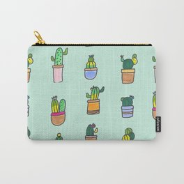 Cactus and Succulents Carry-All Pouch