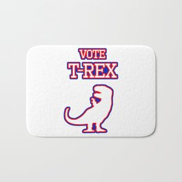 Vote T-Rex Bath Mat