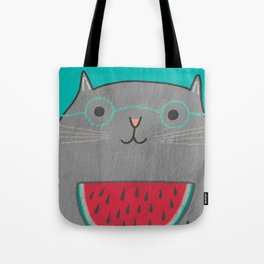 I Can Haz Watermelon  Tote Bag