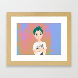 Gillian Framed Art Print