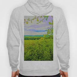Parbold Hill (Digital Art) Hoody