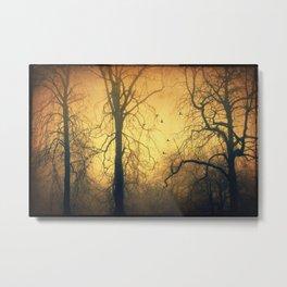leafless Metal Print