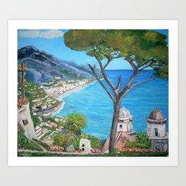 Ravello, Italy Art Print