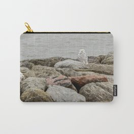 Snowy Owl by Teresa Thompson Carry-All Pouch