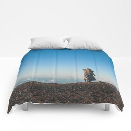 Get outside. Comforters
