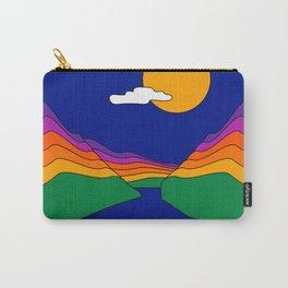 Rainbow Ravine Carry-All Pouch