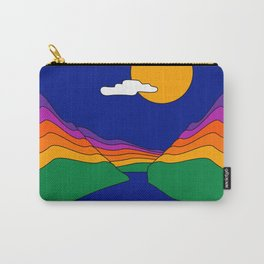 Rainbow Ravine Carry-All Pouch
