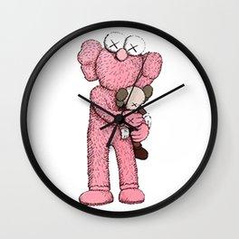 Kaws Pink Wall Clock