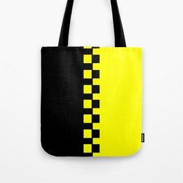 Yellow & Black Tote Bag
