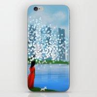 tintin iPhone & iPod Skins featuring Blossom City by Kennie Gathuru