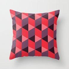 Queen of Hearts [isometrix 013] Throw Pillow