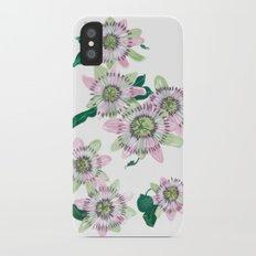 Passion flower Slim Case iPhone X