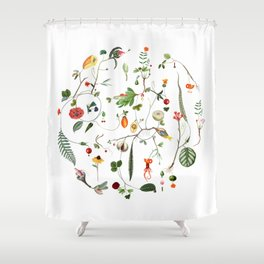 Cycle Shower Curtain