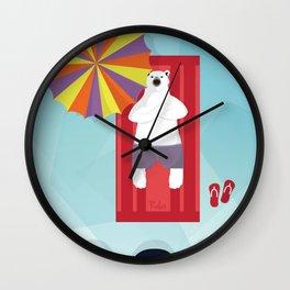 Polar Relax Wall Clock