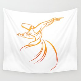 Sema The Dance Of The Whirling Dervish Wall Tapestry