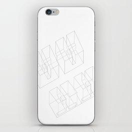 Axonometric  iPhone Skin