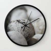 stone Wall Clocks featuring Stone by Fine2art