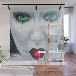 Harlequin Eyes Of A Different Color Wall Mural