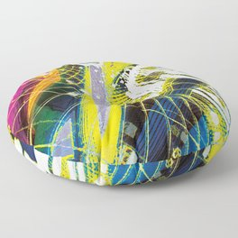 In Psyde 01 Floor Pillow