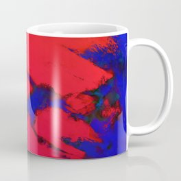 Red erosion Coffee Mug