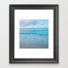 calm day 03 Framed Art Print