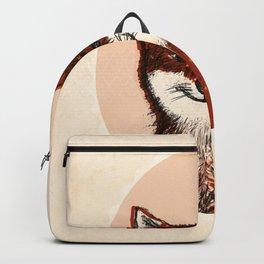 Feeling Foxy Woodland Animal Illustration Backpack