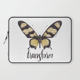 Butterfly Painting   Hahnel's Amazonian Swallowtail   PARIDES HAHNELI   Nature   Animal Art Laptop Sleeve