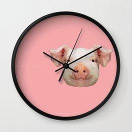 R U happy? Wall Clock