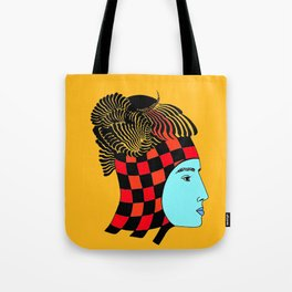 The Checkered Lady Tote Bag