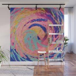 Rosie Angular Swirls Wall Mural