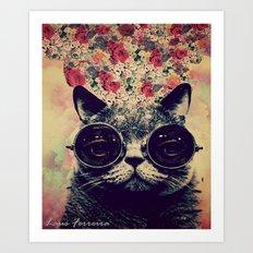 The lovecat! Art Print